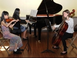 Piano lessons, chamber music
